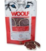Woolf Dog Beef Sushi & Codfish 100 g