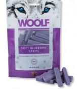 Woolf Dog Blueberry & Chicken Soft Strips 100 g