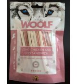 Woolf Dog Chicken & Codfish Soft Sandwich LONG 100 g